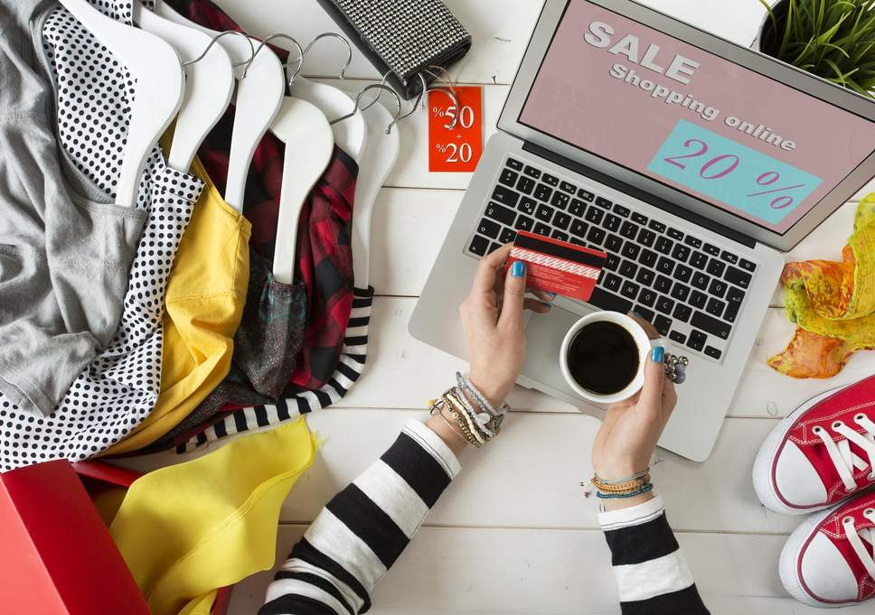 What benefits you are getting for getting your clothes online