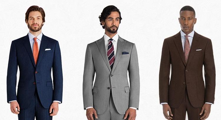 Suits color guide for men